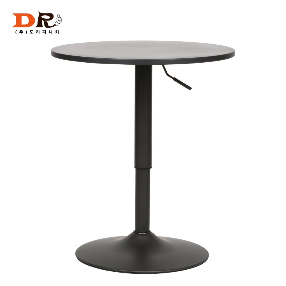 도리퍼니처 뉴 메탈 그레이 바 테이블 /다용도 높은테이블, 원형