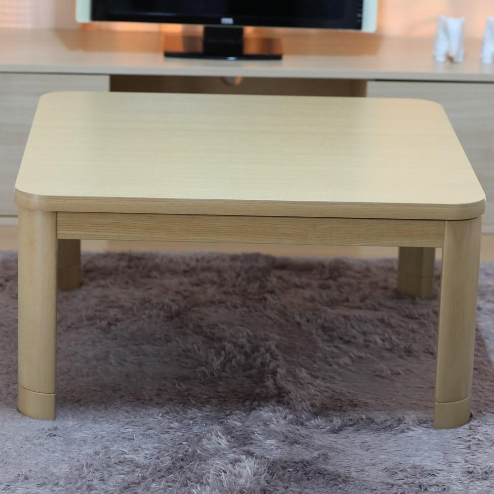지이라이프 정방형 코타츠 테이블, KOW-80(NA)