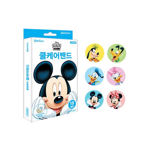 디즈니 미키마우스 쿨케어밴드 18매입, 10개 (POP 88895335)
