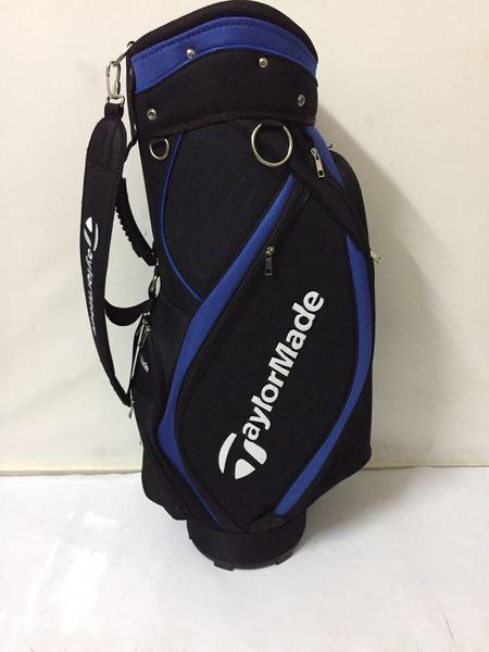 골프백 경량 남녀공용 캐디백, 블랙 블루