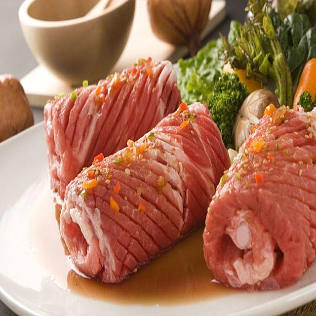 뼈없는 칼집 돼지 양념 갈비 왕구이5대 대용량 1.6kg 숯불갈비 나들이 모임 캠핑