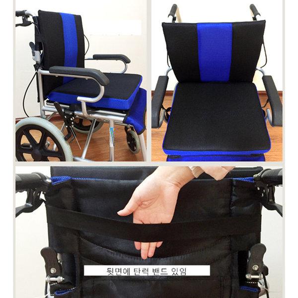스타무역 휠체어방석 환자 기능성 통풍 쿠션 욕창 방지 방석, 1개