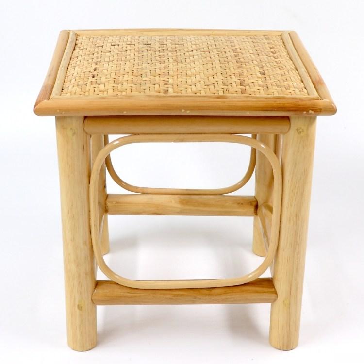 라탄 스툴 의자, 베이지