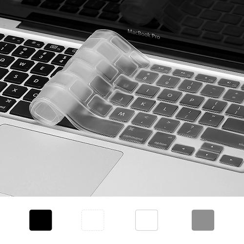 트루커버 맥북 악세사리 키보드 보호 키스킨 4color, 1개, 키스킨 화이트(MBKS.03)-맥북프로 논터치바13인치(A1708)