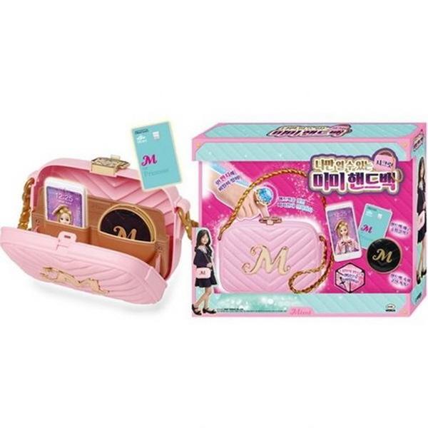 나만열수있는 시크릿 미미 핸드백 화장하고 셀카찍어요 핸드백장난감