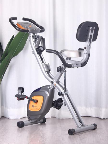 크리스 헬스자전거 싸이클 실내라이딩 층간소음없는 무소음 가정용 호수 XBIKE 홈 운동 자전거 자기 제어 페달 자, 쿨 그레이 / 심박수 포함