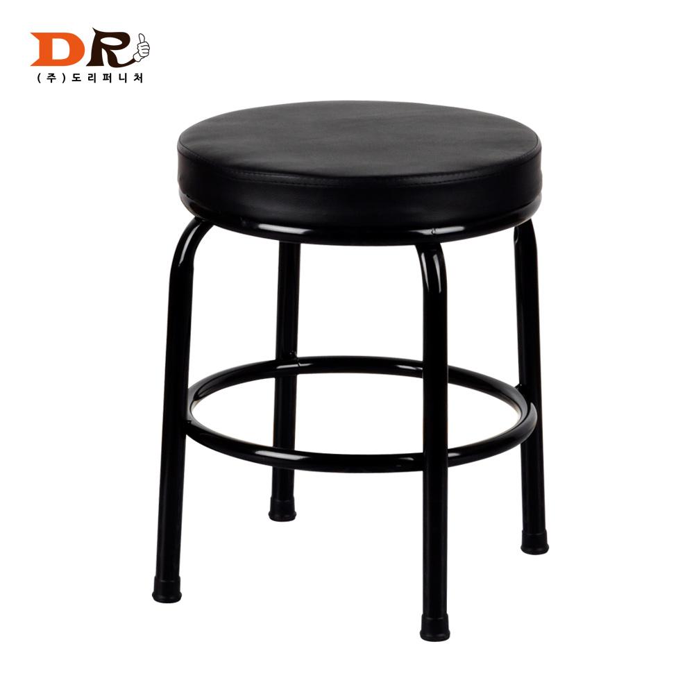 도리퍼니처 포차의자 업소용 보조 다용도 가게의자, 블랙