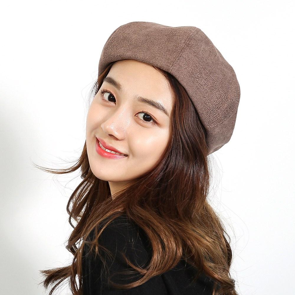 체리플로피 베레모 여자 가을 겨울 빵모자 여성 화가 모자 미크위든베레227 (3컬러) - 주문시 색상이름 확인필수!!
