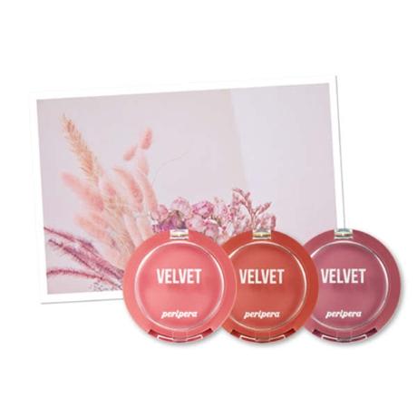클리오 페리페라 맑게 물든 벨벳 치크 (핑크의 순간 컬렉션), 1개, 8호 분위기여신 말린코랄