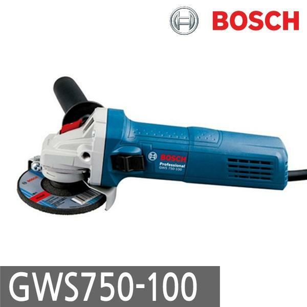 보쉬 신모델 GWS750-100그라인더4인치 슬림업그레이드 (POP 137419477)