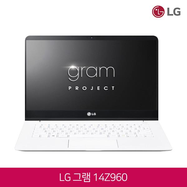 LG전자 6세대 코어i5 윈10탑재 LG 그램 14Z960 화이트, 4GB, SSD 256GB, 포함