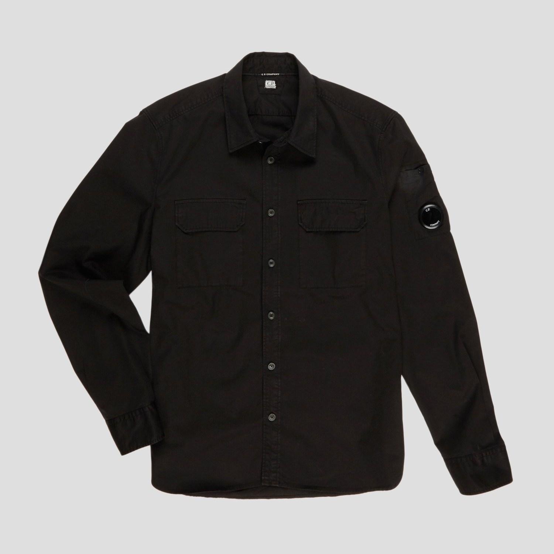 CP컴퍼니 포켓렌즈 블랙 셔츠 08CMSH165A005383G999 굿럭명품샵