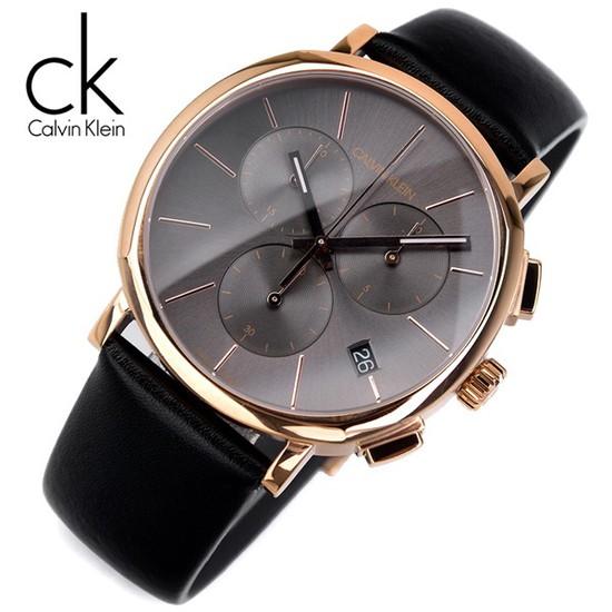 캘빈클라인 K8Q376C3 크로노그래프 남성용 야광인덱스 명품 시계