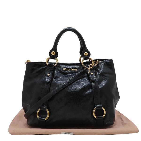 미우미우 비텔로샤인 가방 K0963MIU