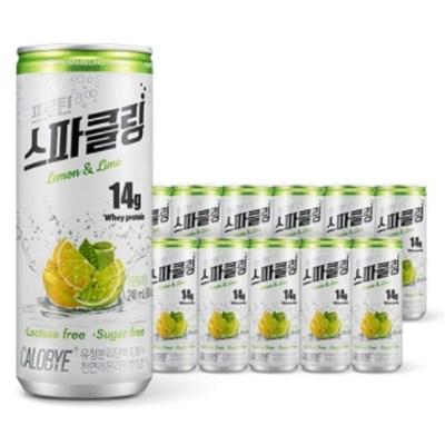 칼로바이 프로틴 스파클링 단백질 음료 분리유청 WPI 헬스보충제 12개입, 24개입, 240ml