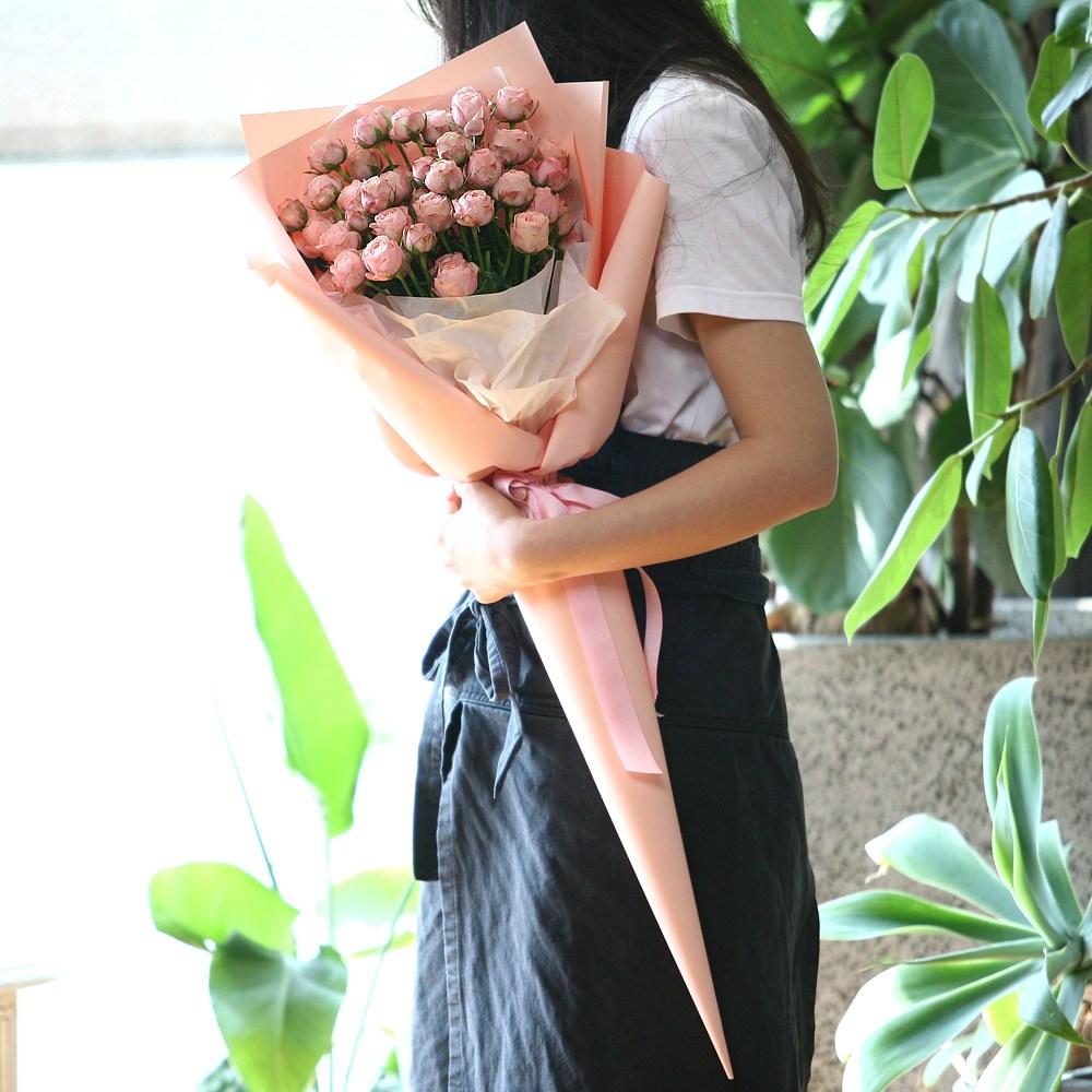 [전국택배배송 플라워테일] 자나장미100송이 대형꽃다발 대왕 자이언트 여자친구 1주년 생일 선물 5월14일 로즈데이 결혼기념일 와이프 아내 부모님 100일 200일 성년의날, 50송이자나장미대형꽃다발
