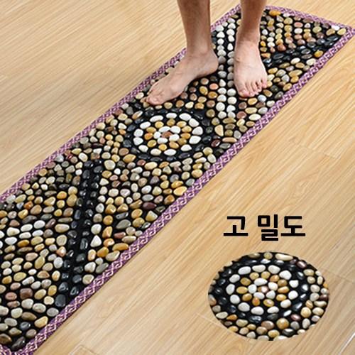 네뷸라 정품 천연 우화석 발지압판 발지압매트, 노을(대), 1개