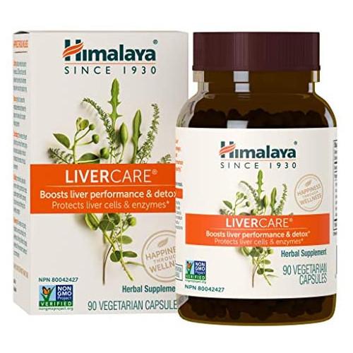 밀크시슬 Himalaya LiverCare/Liv. 52 for Liver Cleanse and Liver Detox 375 mg 180 Capsules 90 Day Supply, 본문참고, 옵션 4 Size = 90 Count