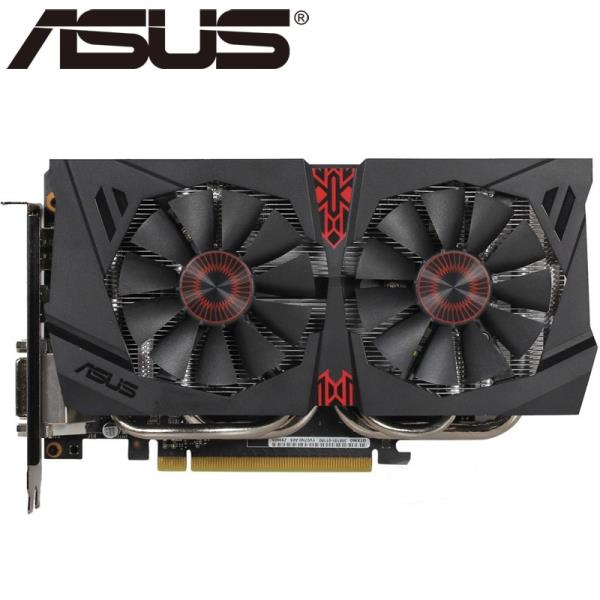 ASUS 비디오 카드 NVIDIA VGA 카드를위한 본래 GTX 960 4GB 128Bit GDDR5 그래픽 카드 Geforce GTX960 Hdmi, 한개옵션