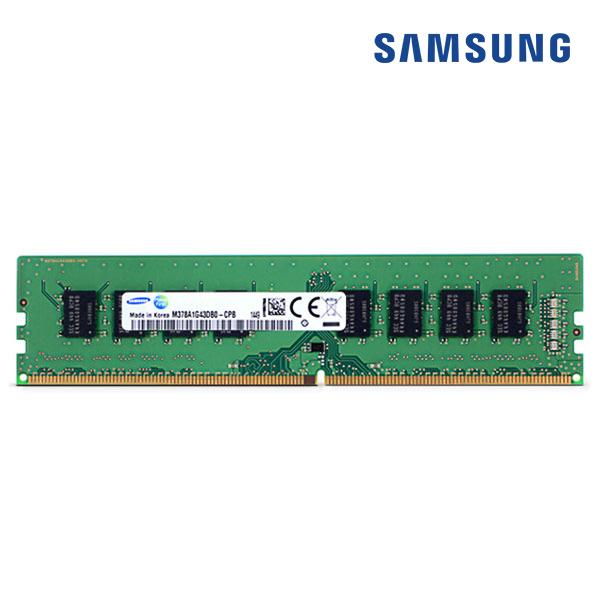PC 삼성 데탑 메모리 DDR4-8GB 17000 2133P 양면 일반, 단품
