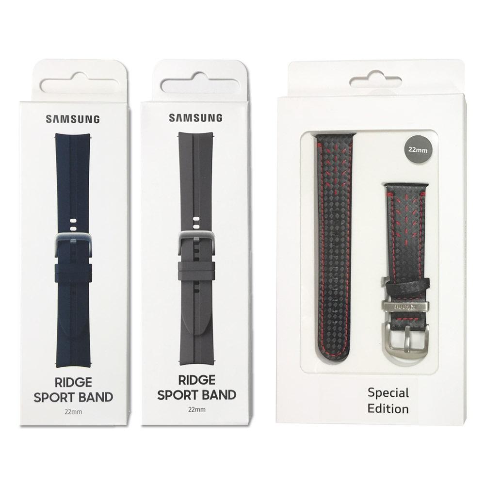 삼성전자 갤럭시 워치3 45mm 스포츠 스트랩(22mm) ET-SFR84, 특가_카본스트랩22mm