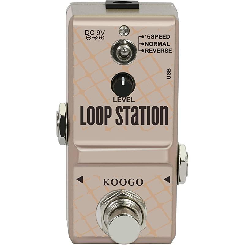 10Min 3 모드를 갖는 계기 루프용 기타 루퍼 페달 타이니 루프 스테이션 페달, 상세페이지 참조
