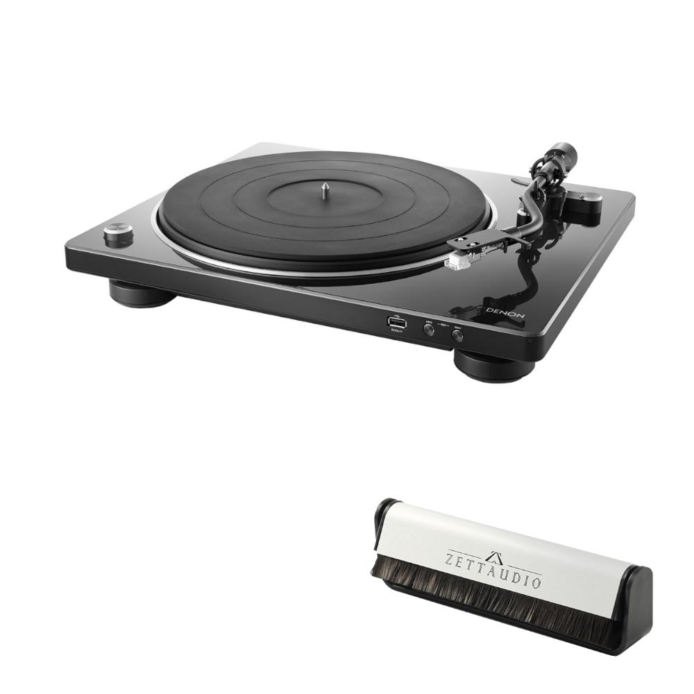 데논 DP-450USB 턴테이블 + 카본 브러쉬, 블랙