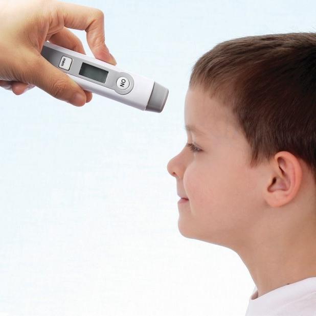 이지템 써모체커 비접촉식 이마형 피부 적외선 체온계 DT-060, 1개