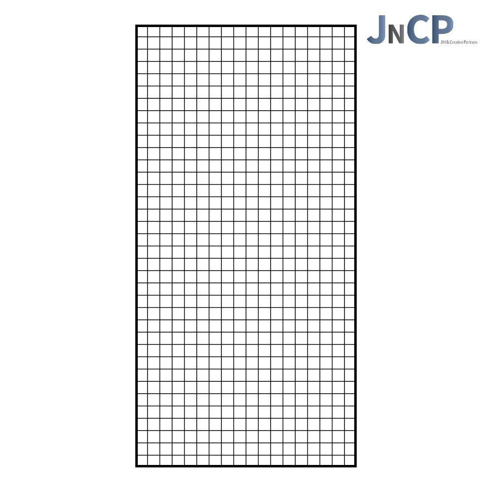 JNCP 휀스망 90x180cm 메쉬망 네트망 철망 악세사리진열대 방묘 후크, 1개