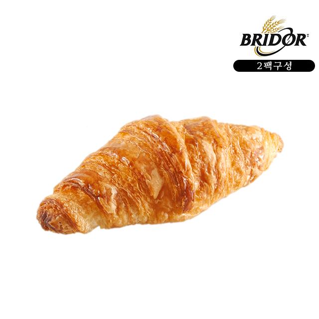 브리도 냉동 생지 빵 베이커리 에어프라이어 오븐 간편식 먹거리 미니크로와상 24개입, 2팩, 25g