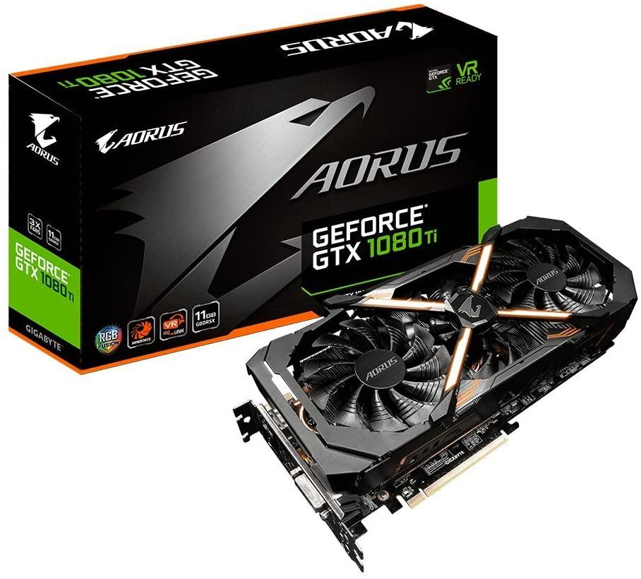 (관부가세별도) Gigabyte GV-N108TTURBO-11GD AORUS GeForce GTX 1080 Ti Turbo 11G Graphic Cards-B07317Q3RJ, GTX 1080 Ti Gaming OC / one size