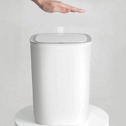 한샘 모션센서 쓰레기통 자동 스마트휴지통 12L 코튼캔디