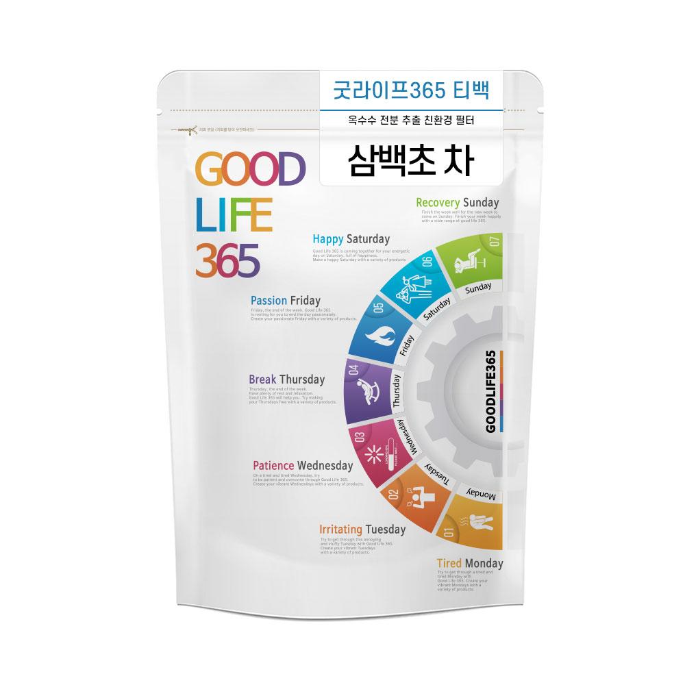 굿라이프365 삼백초 삼각티백 50티백, 1.5g, 50개입