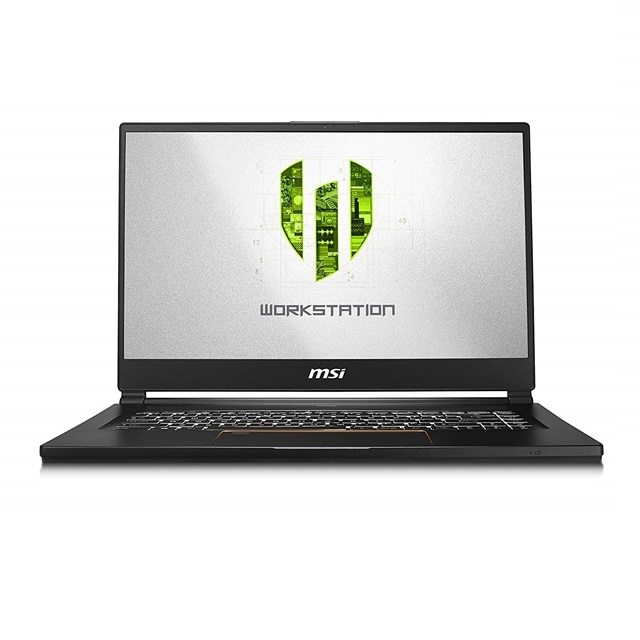 MSI WS65 9TL-686 15.6 Thin and Light Mobile Workstation Intel Core i7-9750H NVIDIA Quadro RTX 4000, 단일색상