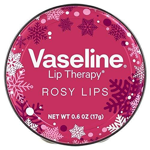 Vaseline Lip Therapy Rosy Lips Holiday Edition 0.6 oz / 17 g, 단일상품, 단일상품