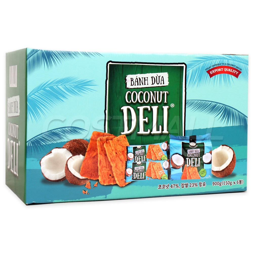 반두아 코코넛 델리 900g 쌀가루 비스킷 코스트코, 1개