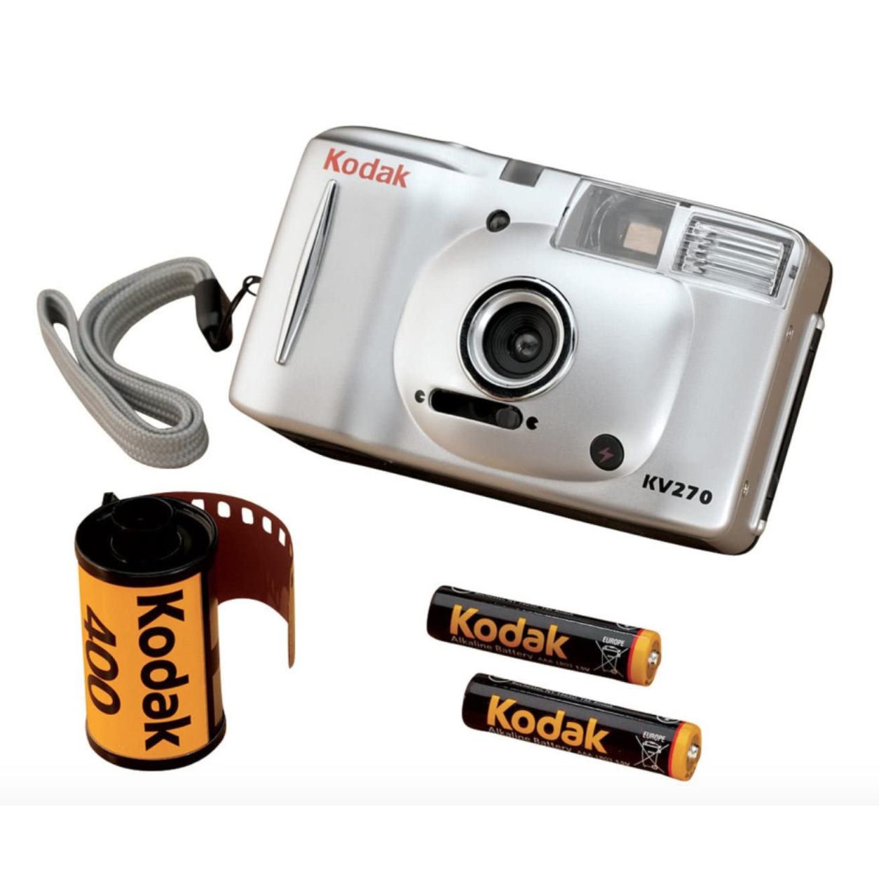 (미개봉 새제품) KODAK KV-270 코닥 KV270 입문용필카 필름카메라 자동필름카메라 필카추천