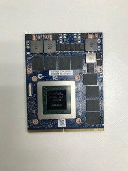 [해외] 기존 GTX 980 M 그래픽 카드 GTX980M SLI X브래킷 N16EGXA1 DELL ALIENWARE MSI 용 8 GB GDDR5 MXM, 상세내용표시