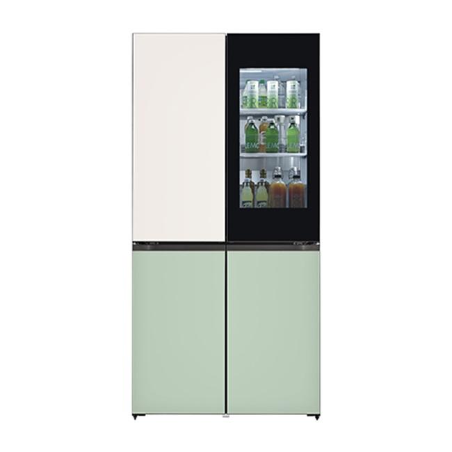 LG전자 M870GBM451S 오브제컬렉션 냉장고 1등급 글라스 (POP 4577177571)