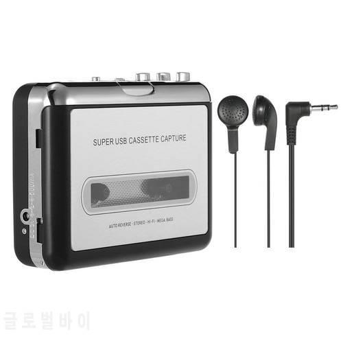 JABS 휴대용 카세트 플레이어 휴대용 테이프 플레이어는 USB를 통해 카세트, 상세내용참조