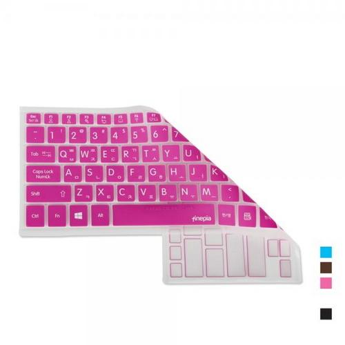 [바보사랑]삼성 노트북9 metal NT900X5J-K14용 문자인쇄키스킨, 초코, 선택