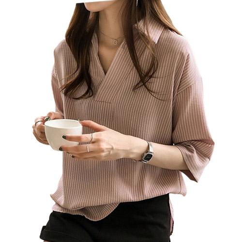 리더스타 여성블라우스 여성셔츠 루즈핏 셔츠 블라우스