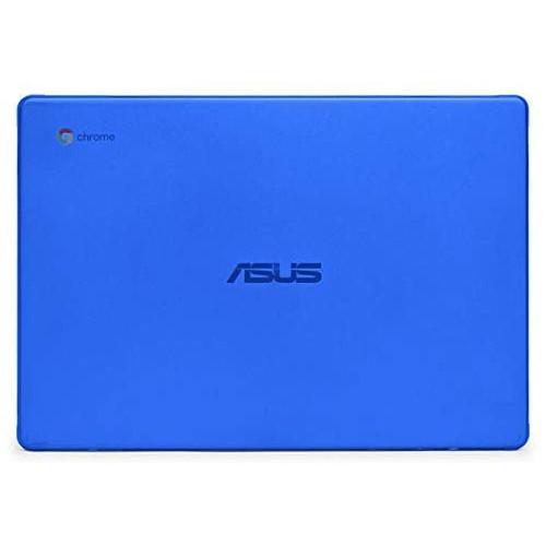 노트북 파우치 mCover Hard Shell Case for 2019 14-inch ASUS Chromebook C423NA Series Laptop - ASUS C423 Aqua, Color = Blue