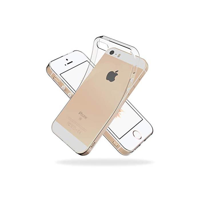 Youriad iPhone SE (2016) / 5S 5 케이스 커버 구형 1 세대 | 투명 클, 1개, 자세한 내용은 참조