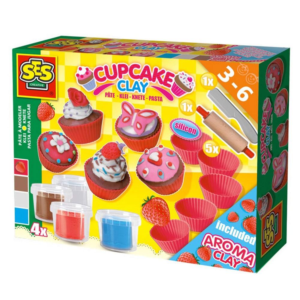 IT49519 SES 클레이 컵케익세트 생일케익 수제케이크 떡케이크 파리바게트케이크 케이크배달 플라워케이크 롤케익 케이크만들기 마카롱 디저트