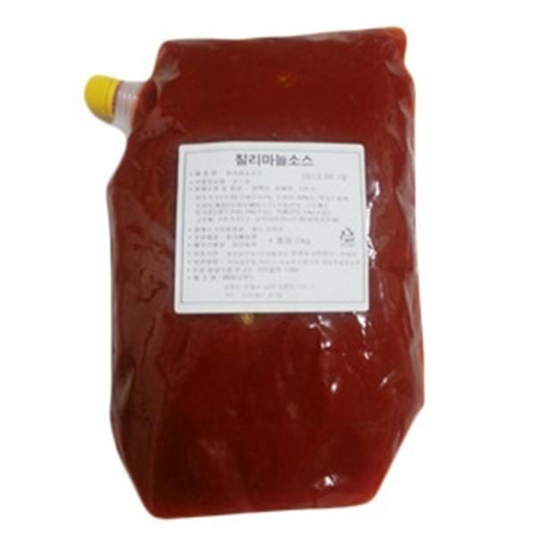 [푸드킹] 칠리마늘소스2kg, 1팩, 2kg