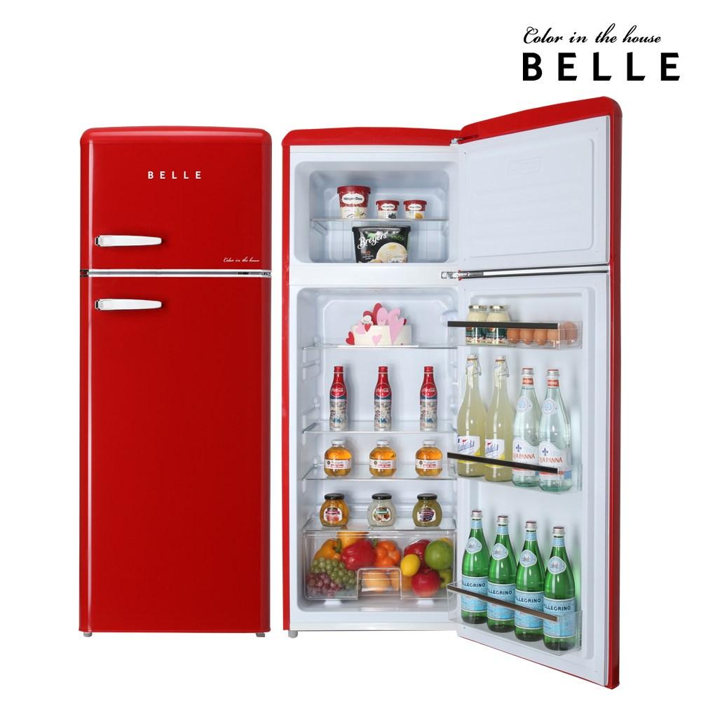 Belle 레트로 소형 냉장고 RD22ARD (POP 339320052)