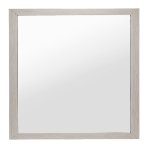 모카 누드 욕실용거울, 심플아이보리 욕실거울(40mm)(800*800)