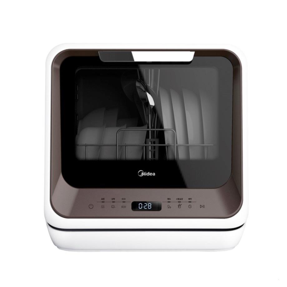 Midea Mini Dishwasher CDW-302B 미디어 무설치 식기세척기, 자가설치