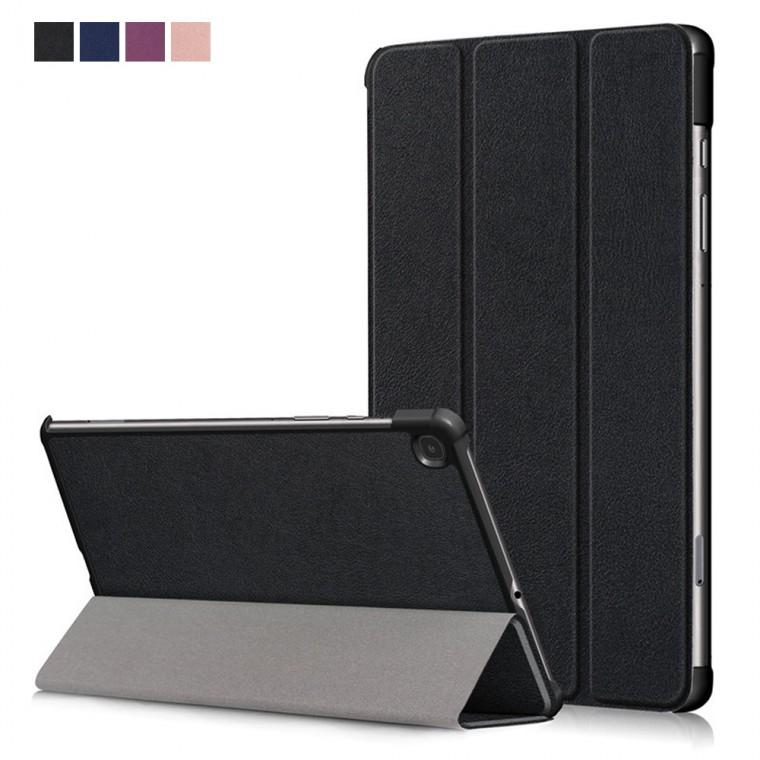 갤럭시탭 S6 라이트 10.4 북커버 케이스 스마트 플립 강화유리필름, 단일상품
